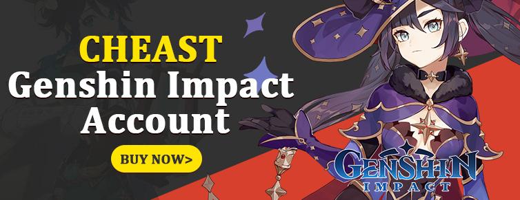 Cheap Genshin Impact Account